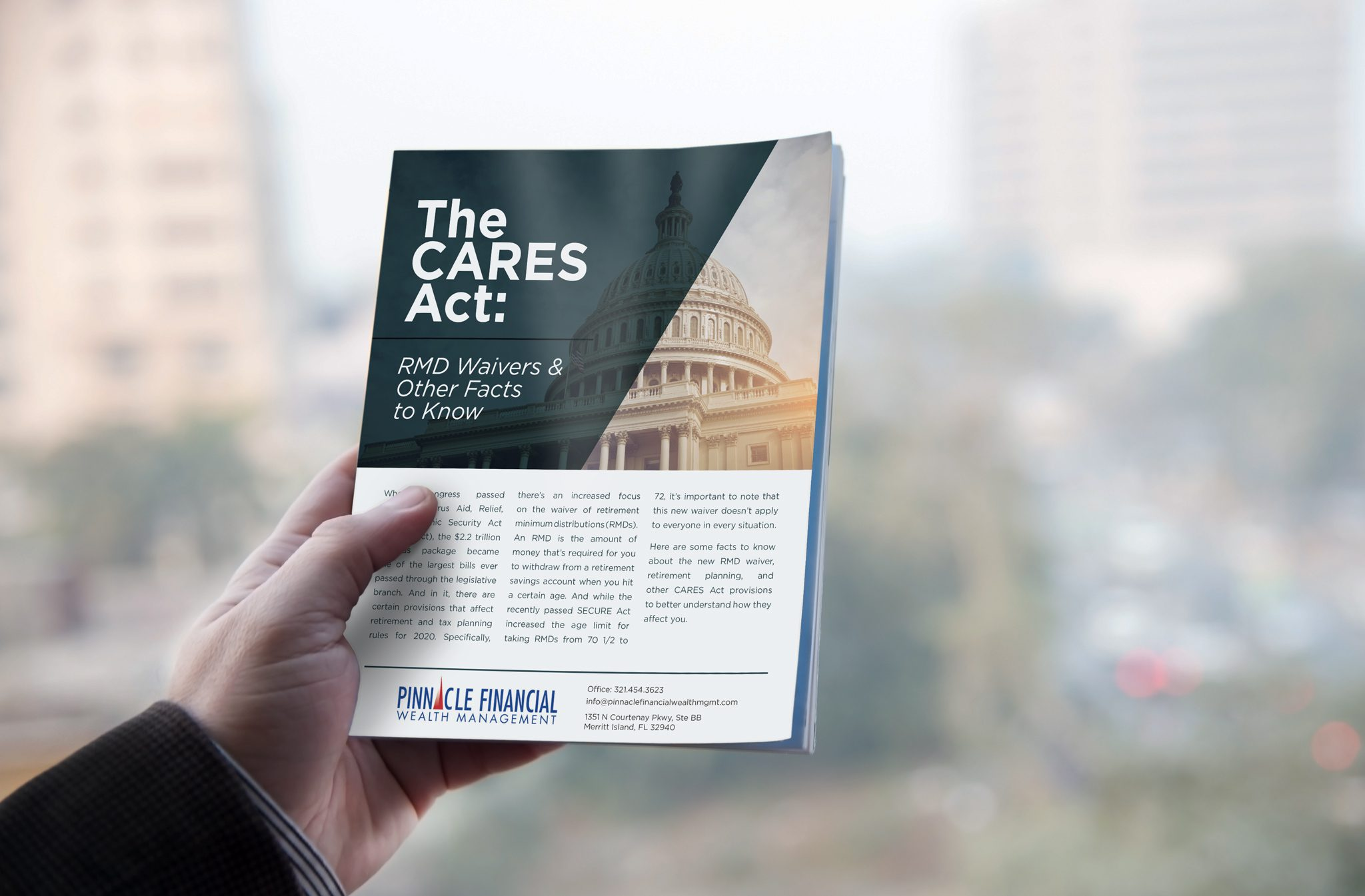 The CARES Act: RMD Waivers & Other Facts to Know